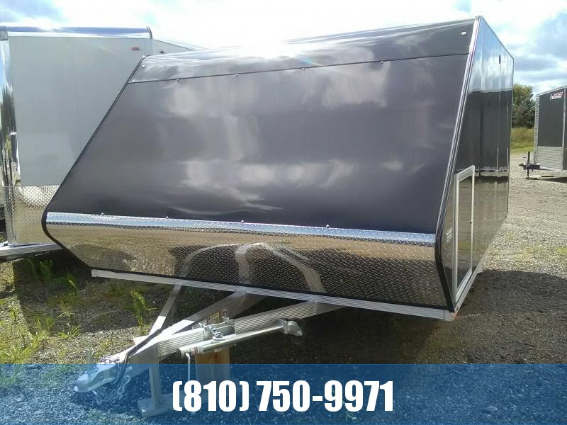 2020 Sport Haven 12' Hybrid Snowmobile Trailer