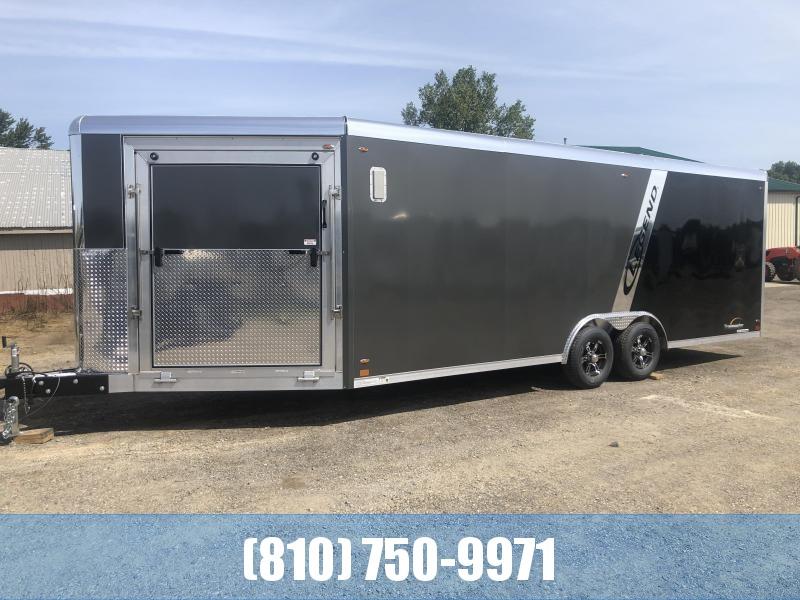 2020 Legend Manufacturing Trailmaster 8.5x28 Snowmobile Trailer