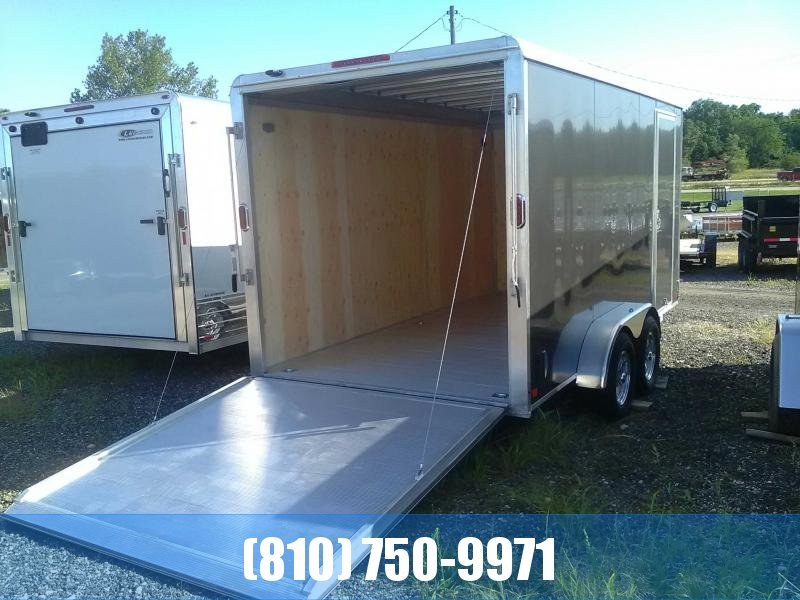 **ALUMINUM FLOOR** 2019 Aluma 7x14 All-Aluminum Enclosed Trailer