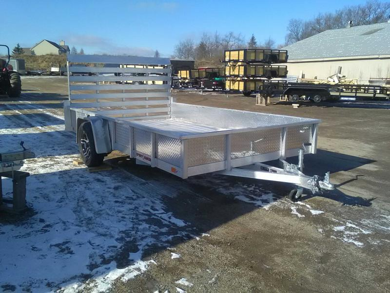 2020 Sport Haven 7x12 All-Aluminum Utility Trailer with Sides