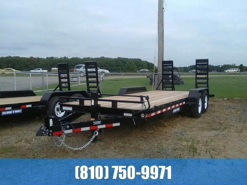 2019 Sure-Trac 7x20 14K Equipment Trailer