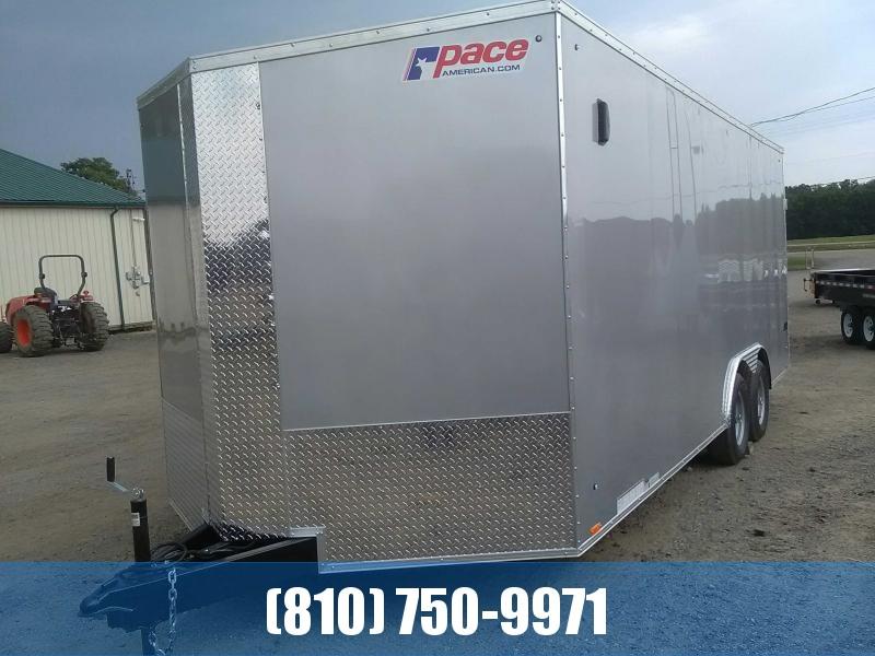 2020 Pace American Journey 8.5x20 10K Car / Racing Trailer