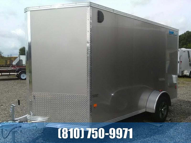 2018 Cargo Pro 7x12 Aluminum Enclosed Cargo Trailer