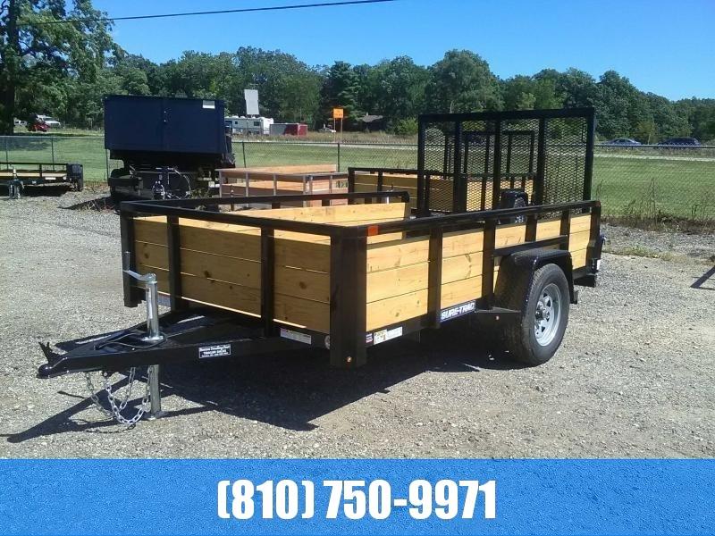 2020 Sure-Trac 6X10 3-Board High Side Utility Trailer