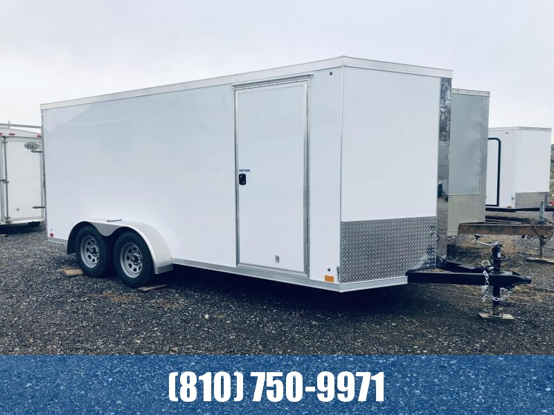 2020 Cross Trailers 7 x 16 TA Enclosed Cargo Trailer