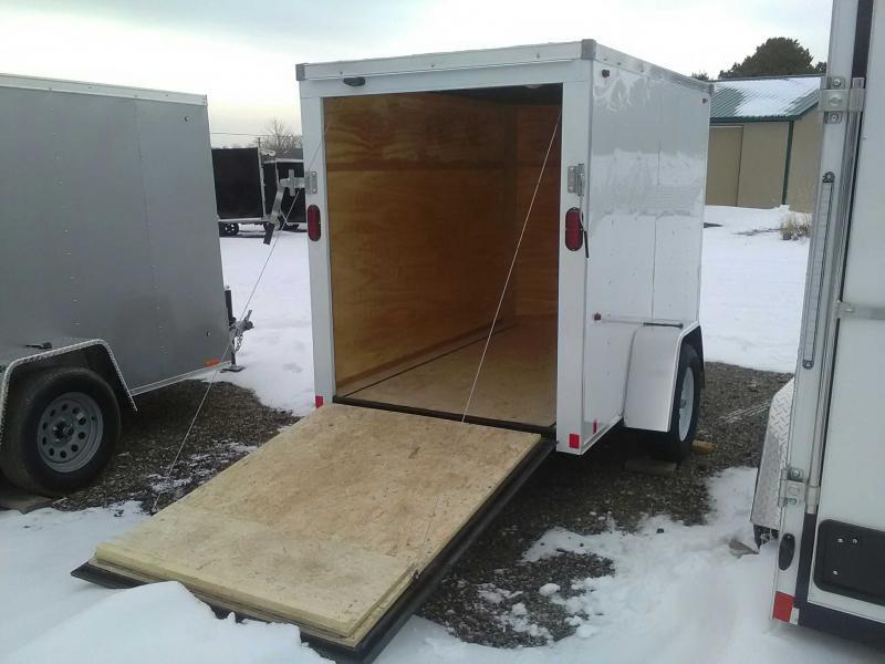 2020 Interstate 5x8 Enclosed Cargo Trailer