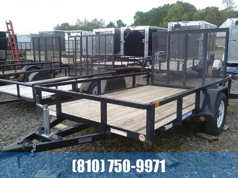 Used 2015 Sure-Trac 6x10 Tube Top Utility Trailer
