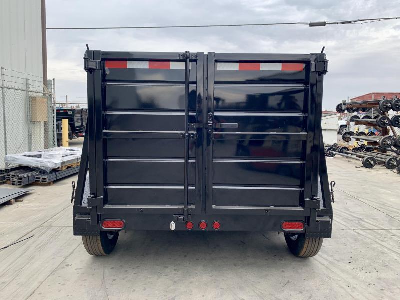 2020 R&J 5x8 10k 4' Wall Dump Trailer