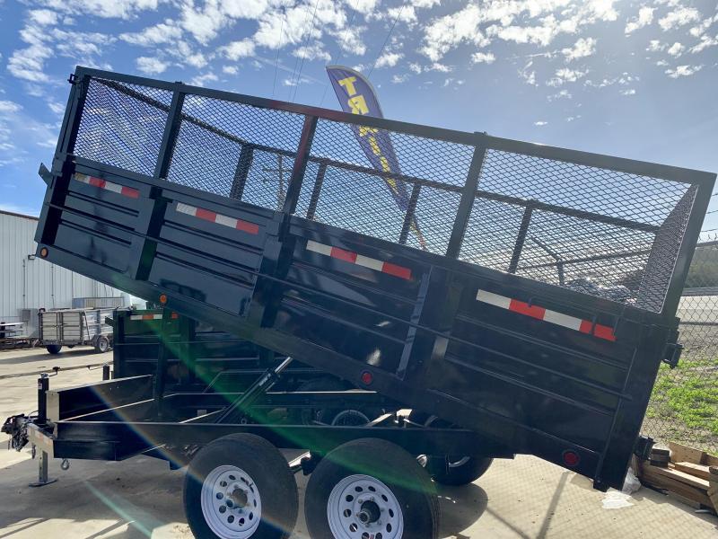 R&J New model 6x12 10k DeckOver Dump Trailer