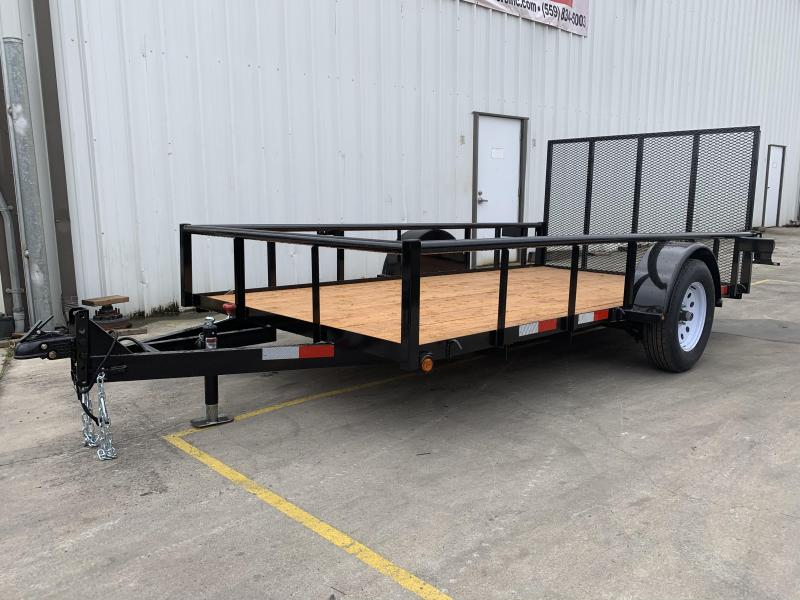 2019 R&J 6x12 w/ drop axle 2.9k Utility Trailer