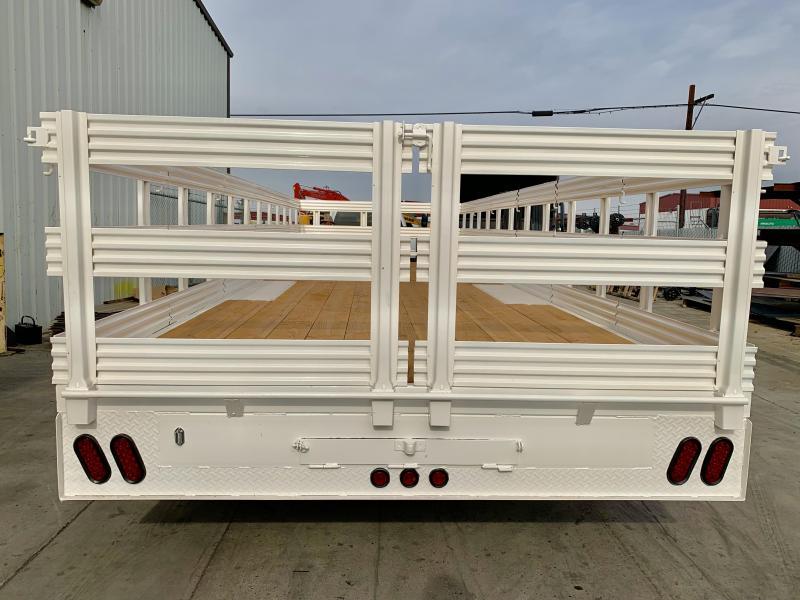 2020 R&J 102'' x 24' 14k Deck Over Trailer