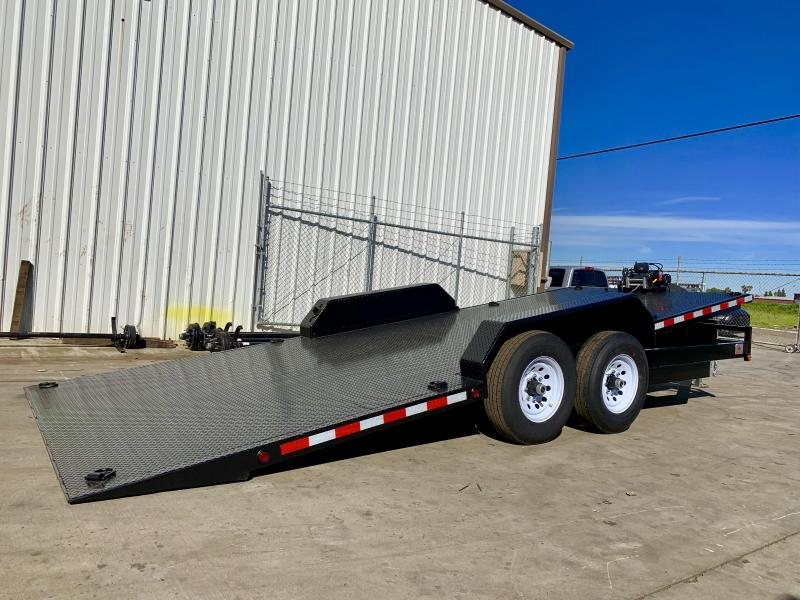 2020 R&J 8.5X20 HD Tilt bed Equipment Trailer