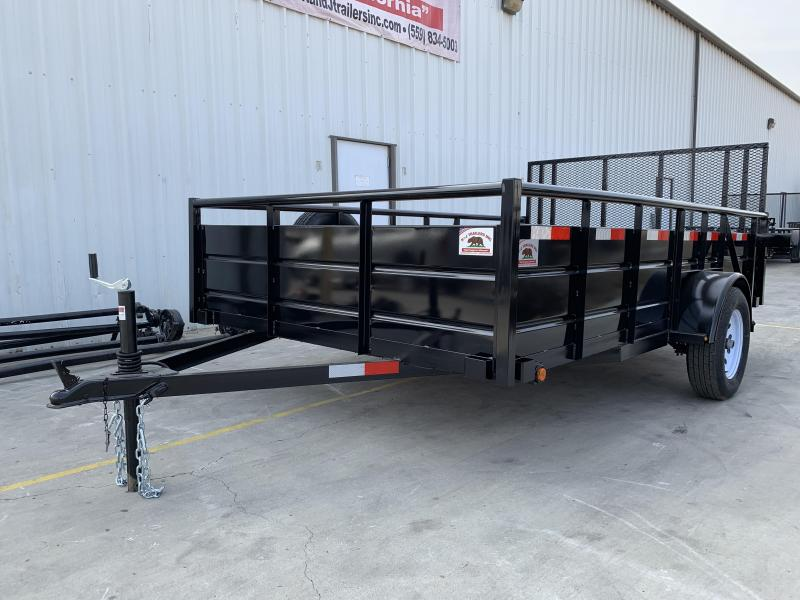 R&J Trailers Inc 7x12 landscape 2.9k Trailer HD gate
