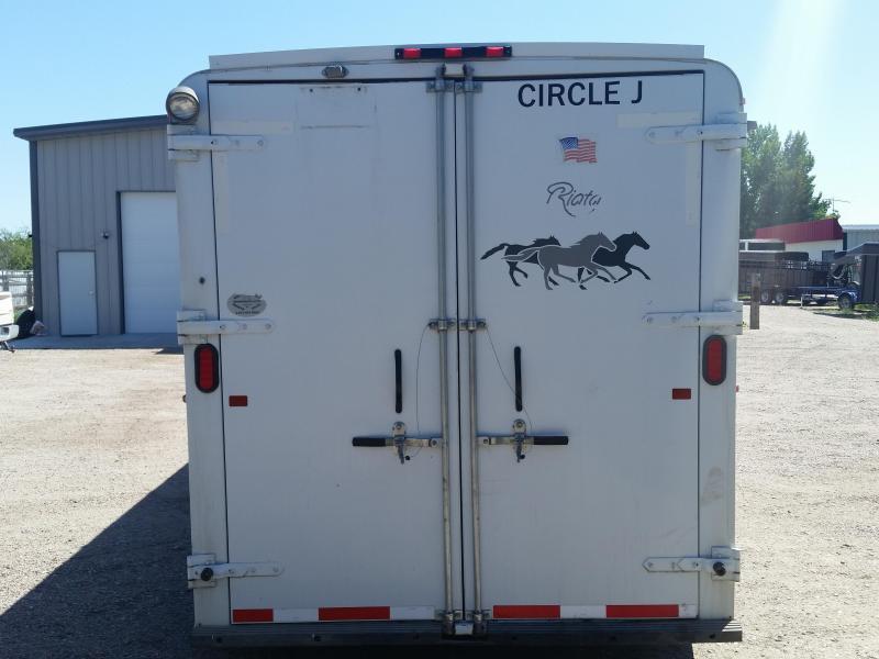 2004 Circle J Trailers 3 HORSE Livestock Trailer