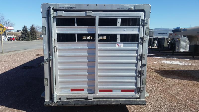 2013 Featherlite 30' STOCK Livestock Trailer