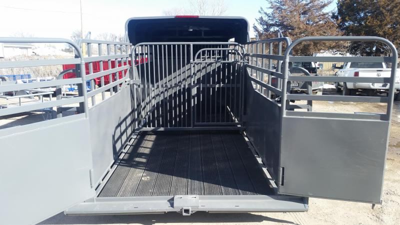 2020 Big Bend 18' HALF TOP Livestock Trailer