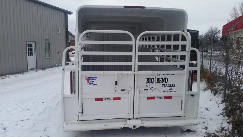 2020 Big Bend 20' FULL TOP Livestock Trailer