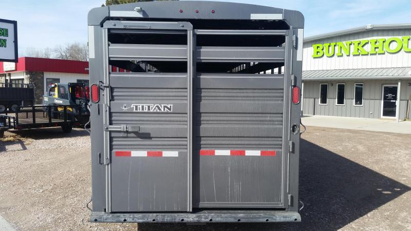 2020 Titan Trailers 24 STANDARD STOCK Livestock Trailer