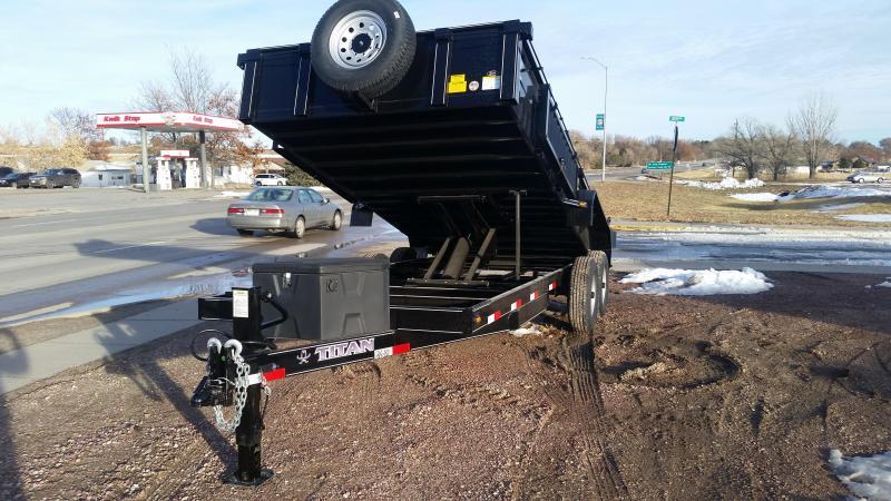 2020 Titan Trailers 16' BH DUMP Dump Trailer