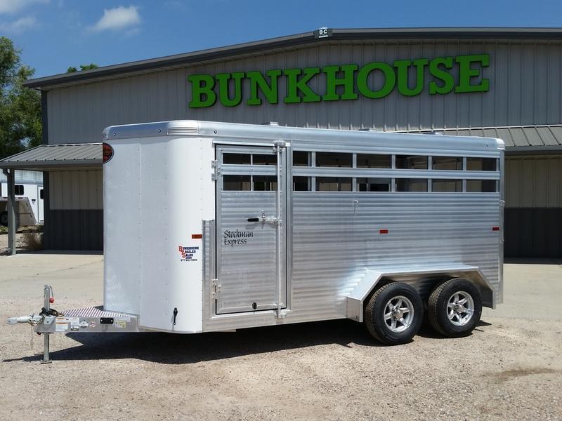 2019 Sundowner Trailers Rancher Express BP 16 Stock Combo Trailer