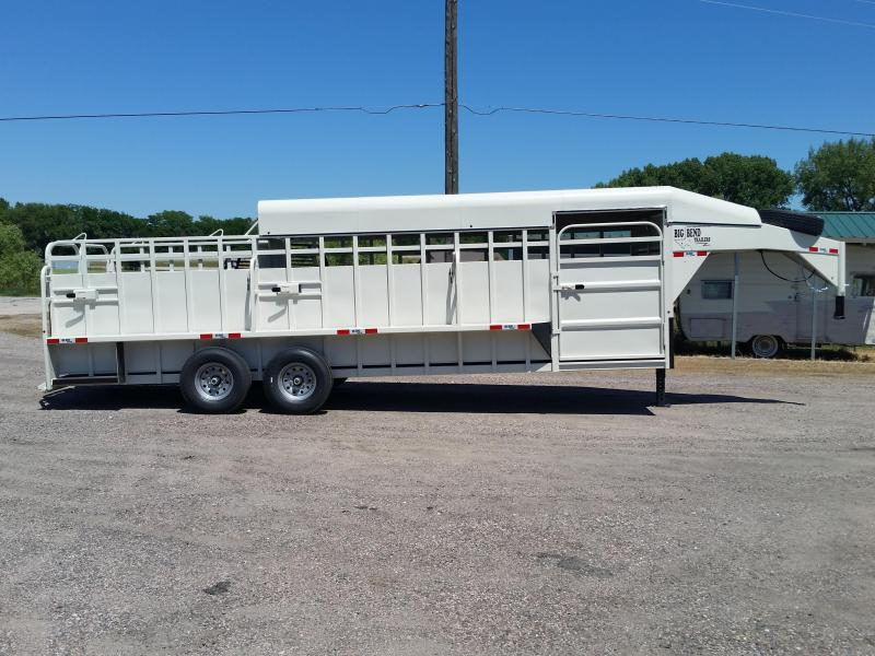 2019 Big Bend 24 3/4 TOP Livestock Trailer