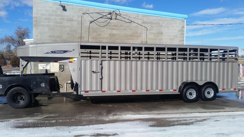 2020 Titan Trailers 24' RANCHER Livestock Trailer