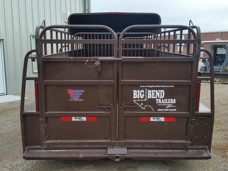 2019 Big Bend 20 HALF TOP Livestock Trailer