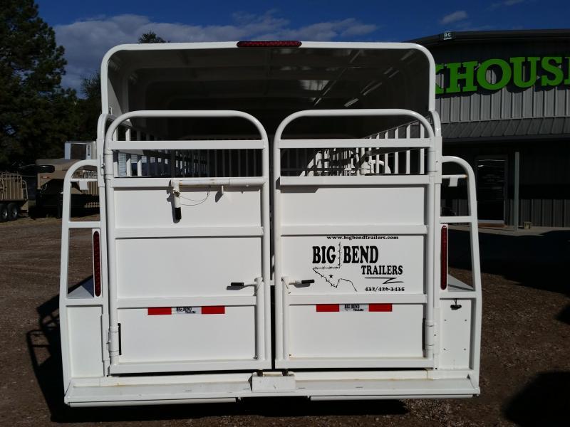 2019 Big Bend 28 FULL TOP Livestock Trailer