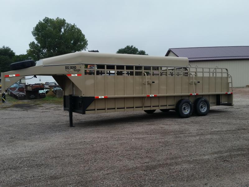 2020 Big Bend 24 3/4 TOP STOCK Livestock Trailer