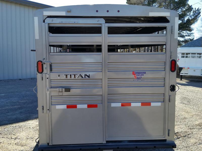 2019 Titan Trailers 20 STANDARD STOCK Livestock Trailer