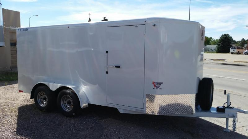 2020 Titan Trailers 16 CARGO Enclosed Cargo Trailer