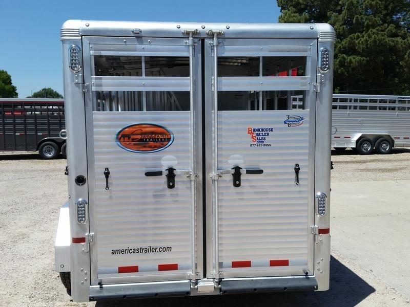2019 Sundowner Trailers Rancher Express 16 Stock Combo Trailer