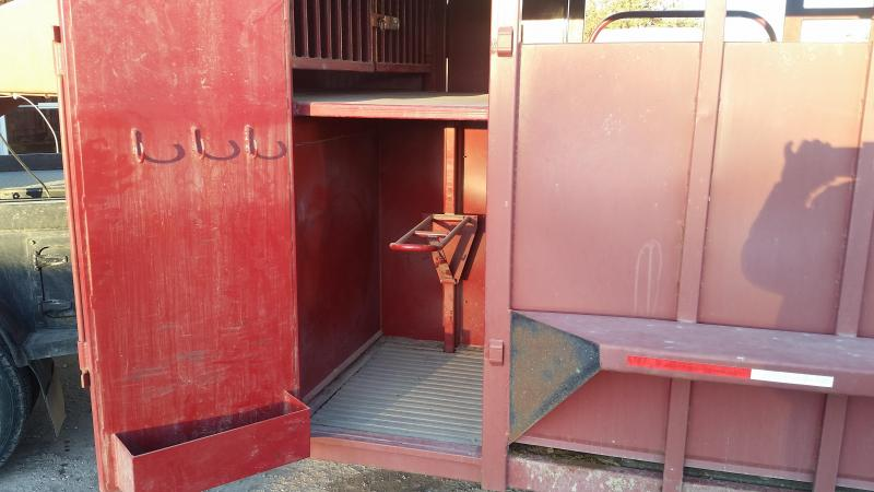 2013 Big Bend 24' 3/4 TOP Livestock Trailer