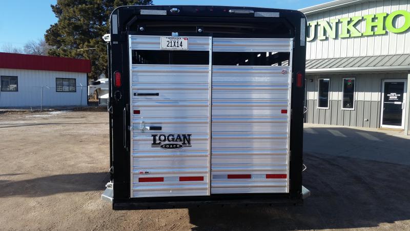 2020 Logan Coach STOCKMAN COMBO Livestock Trailer
