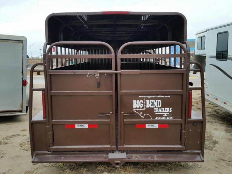 2019 Big Bend 24FT FULL TOP Livestock Trailer