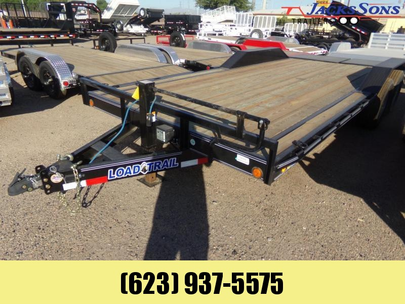 2019 Load Trail 20 X 102 HD MAX RAMPS CAR / EQIP. HAULER Flatbed Trailer