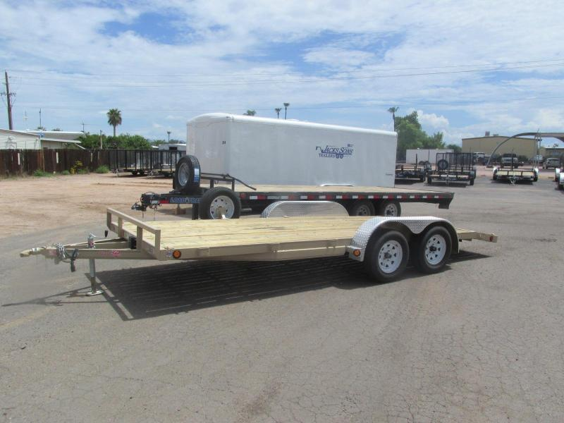 "18' x 5"" Channel Carhauler Trailer Rental"