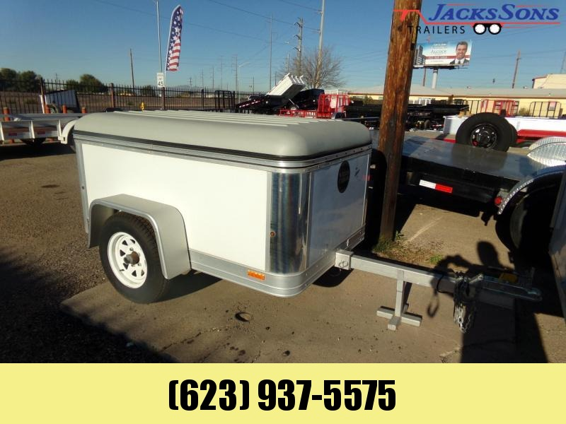 2009 Wells Cargo 4 X 6 EASY TOW LIGHTWEIGHT ENCLOSED CARGO Enclosed Cargo Trailer