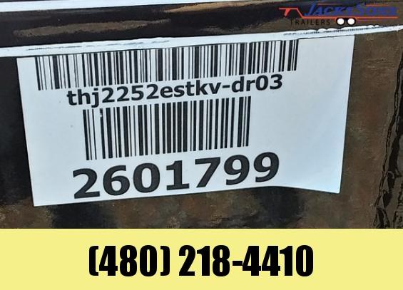 2020 PJ Trailers 22X83 HYDRAULIC QUICK TILT Equipment Trailer