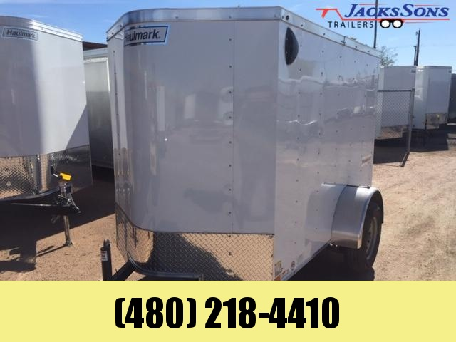 2020 Haulmark 5X8 Enclosed Cargo Trailer