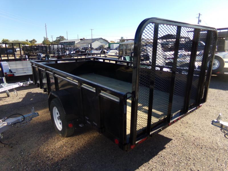 2019 PJ Trailers 12 FT SOLID SIDE UTILITY Utility Trailer