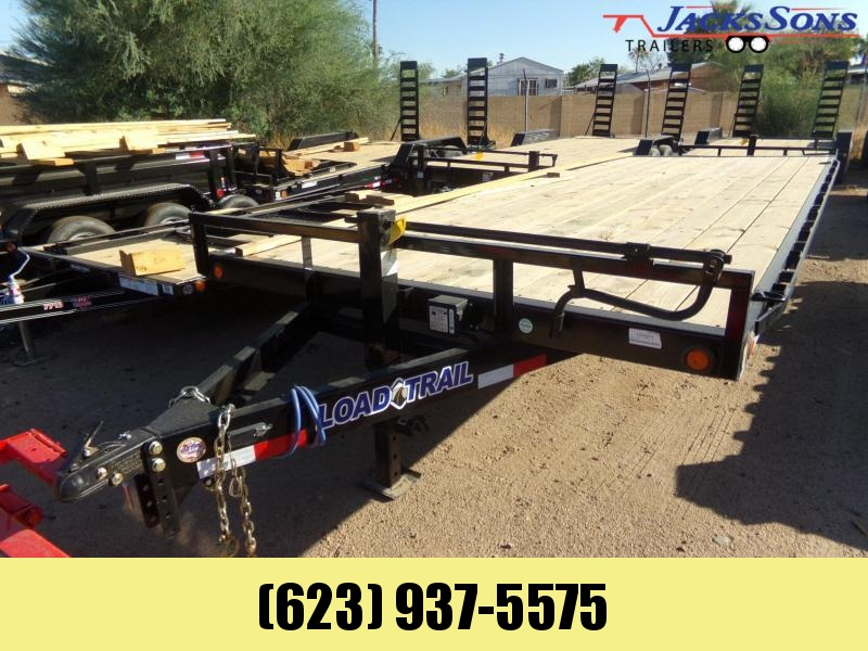 2019 Load Trail 20 X 102 14K DECKOVER W RAMPS & D-RINGS Flatbed Trailer