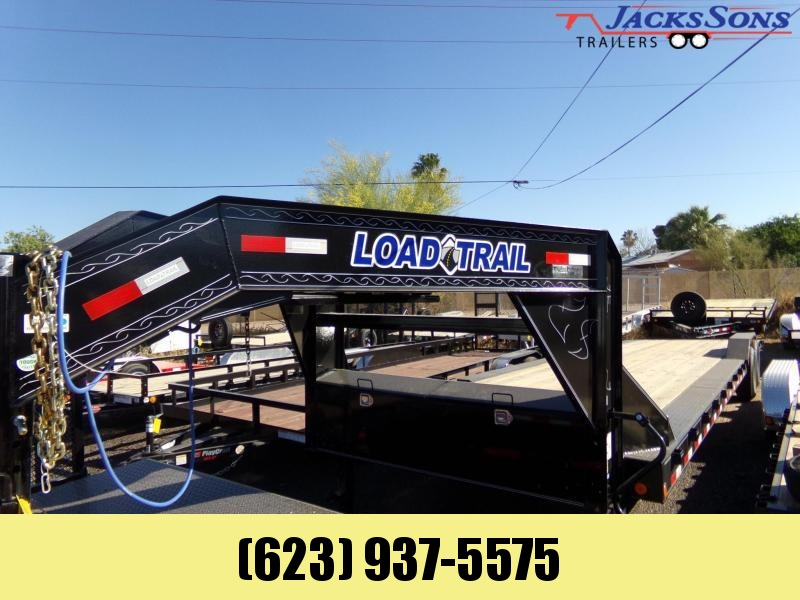 2020 Load Trail 34 FT TANDEM GOOSENECK CAR HAULER Car / Racing Trailer