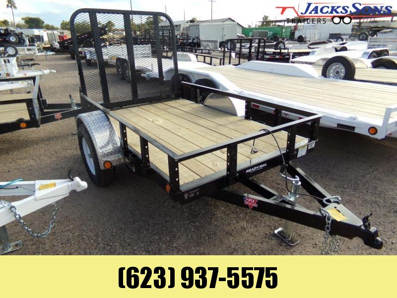 2020 PJ Trailers 5 X 8 RAMP GATE UTILITY / ATV Utility Trailer