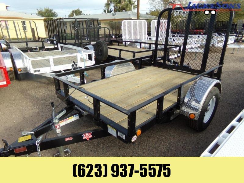 2020 PJ Trailers 5 X 8 RAMP GATE UTILITY / ATV Utility Trailer