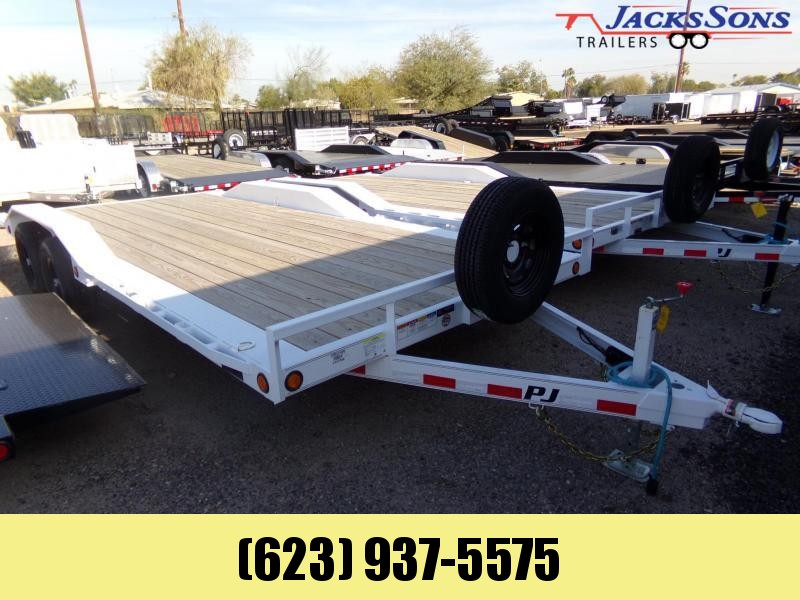 2020 PJ Trailers 20 X 102 XTRA WIDE DRIVE OVER FENDER BUGGY HAULER Car / Racing Trailer