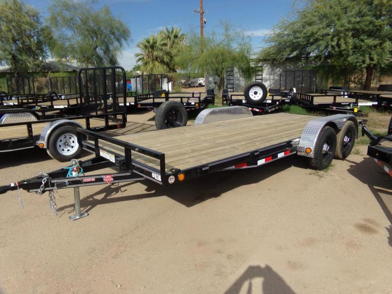 2019 PJ Trailers 18 X 83 CAR HAULER Car / Racing Trailer