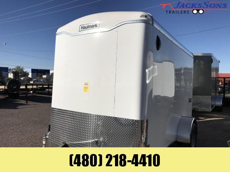 2019 Haulmark 6X10 Enclosed Cargo Trailer