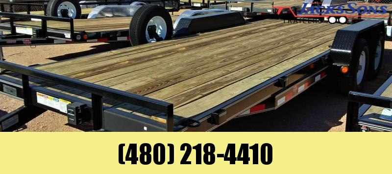 2020 PJ Trailers 20X5 CHANNEL EQUIPMENT Equipment Trailer
