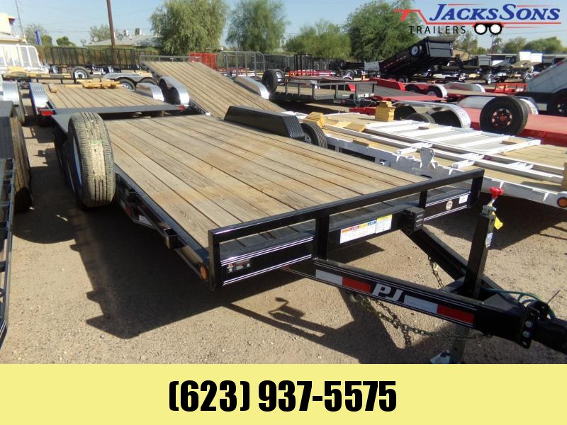 2020 PJ Trailers 18 FT 10K CARHAULER Car / Racing Trailer